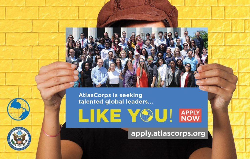 Atlas Corps Fellowship for International Students in the United States