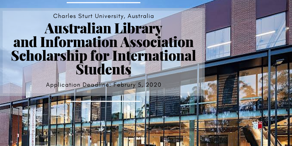 Australian Library and Information Association funding for International Students