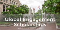 Indiana University Global Engagement Scholarships for International Students in the United States