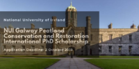 NUI Galway Peatland Conservation and Restoration International PhD Scholarship in Ireland