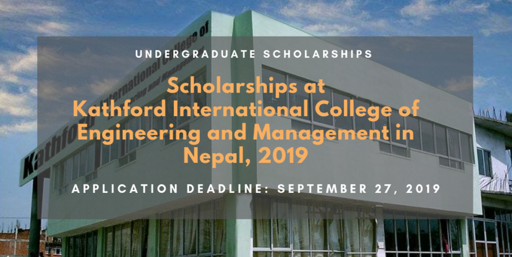 Scholarships For College >> Scholarships At Kathford International College Of