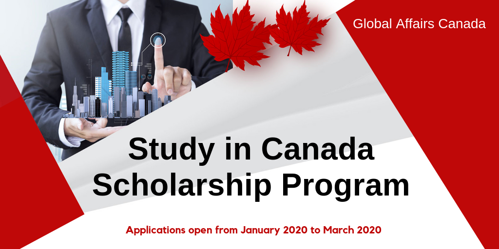 Study in Canada Scholarships Program for International ...