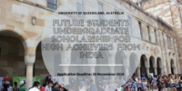 UQ Future Students Undergraduate funding for High Achievers from India in Australia