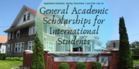 University of Bridgeport General academic programs for International Students in the USA