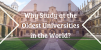 Why Study at the Oldest Universities in the World?