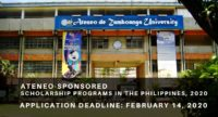 Ateneo-sponsored programs in the Philippines, 2020