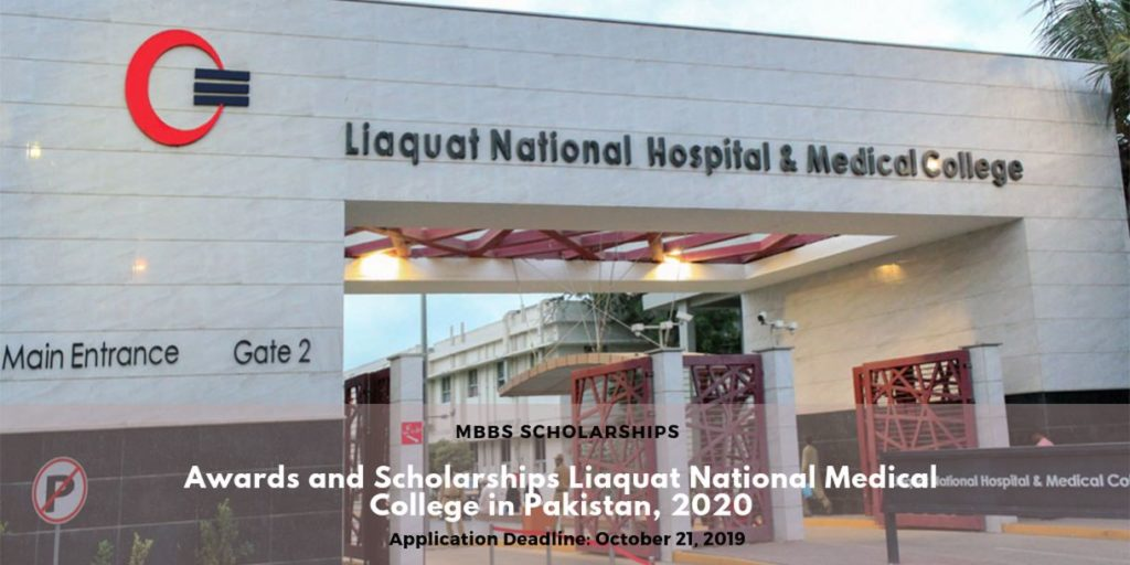 Awards and Scholarships Liaquat National Medical College ...