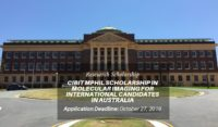 CIBIT MPhil Scholarship in Molecular Imaging for International Candidates in Australia