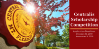 Centralis Scholarship Competition at Central Michigan University, USA