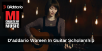 D'addario Women In Guitar funding for International Students, USA