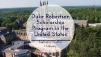 Duke Robertson program in the United States