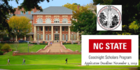 Goodnight Scholars Program at NC State University, USA