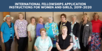 International Fellowships Application Instructions for women and girls, 2019-2020