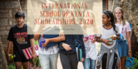 International School of Kenya Scholarships, 2020