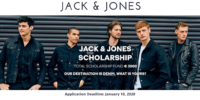 JACK & JONES funding for International Students