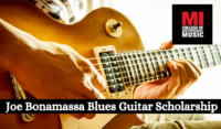 Joe Bonamassa Blues Guitar Scholarship at MI College, USA