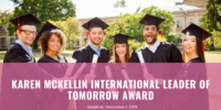 Karen McKellin International Leader of Tomorrow Award, 2019