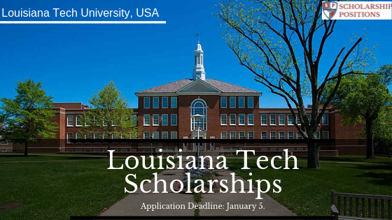 Louisiana Tech Scholarships in the United States