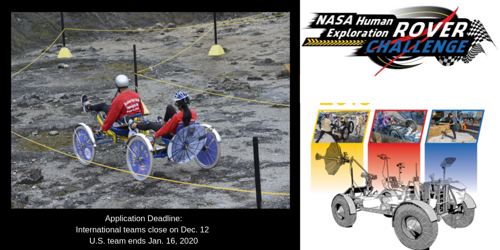 NASA Human Exploration Rover Challenge for International Students