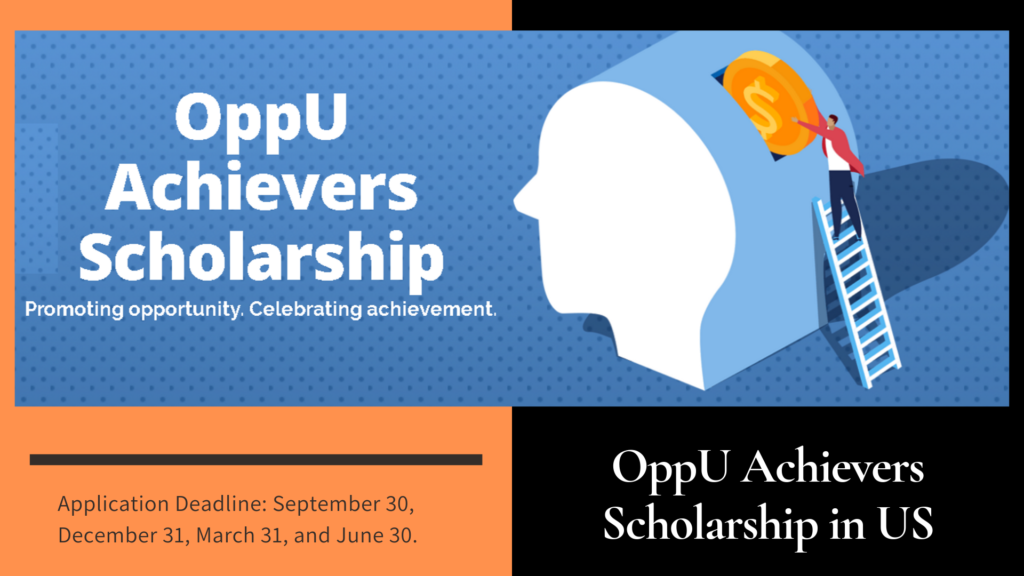 OppU Achievers Scholarship in the US