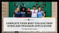 Questbridge College Prep program