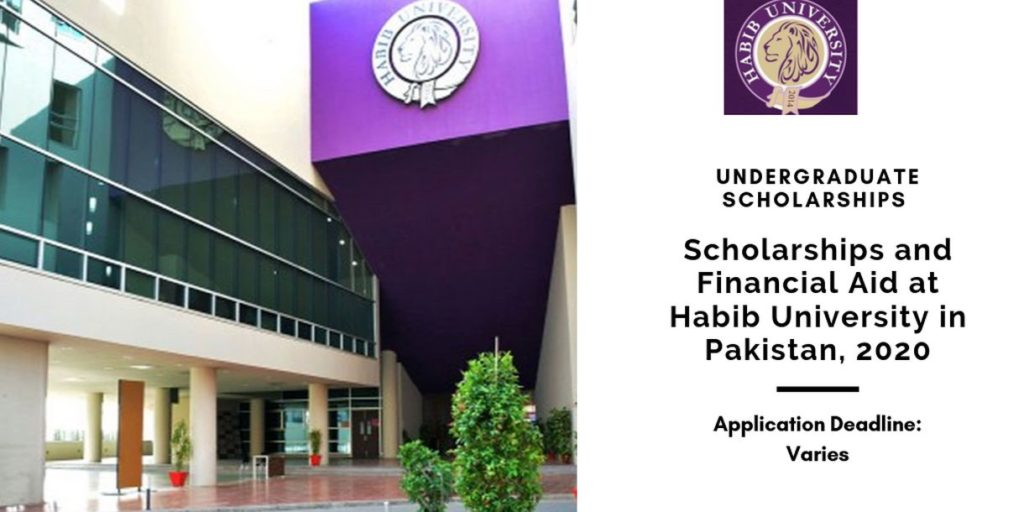 Scholarships and Financial Aid at Habib University in ...