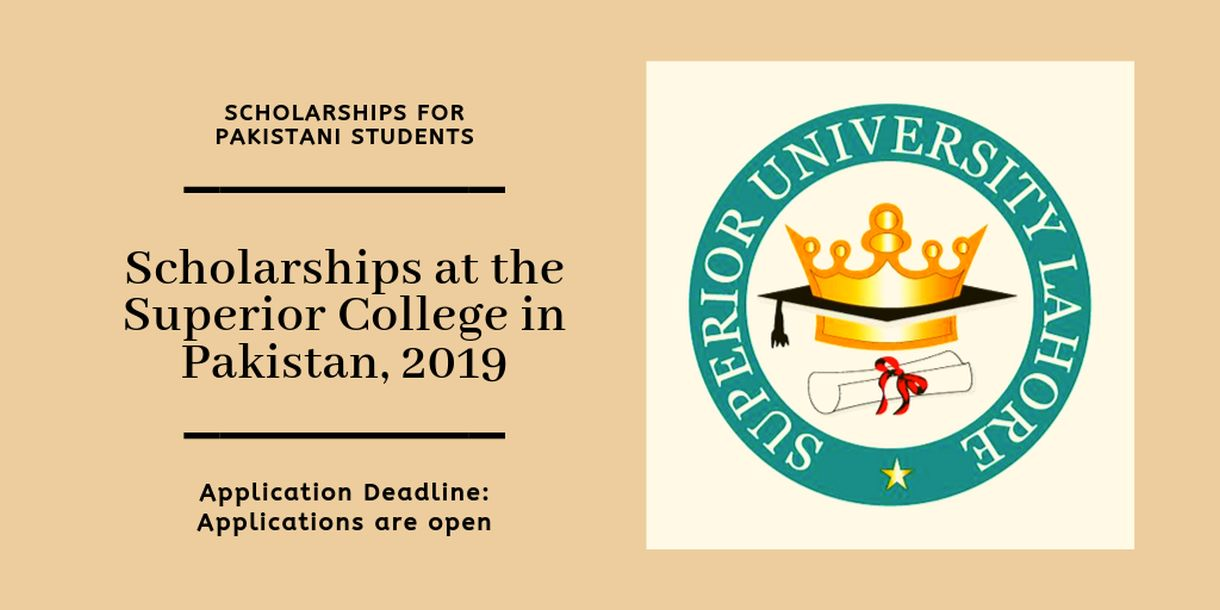 Scholarships For College >> Scholarships At The Superior College In Pakistan 2019