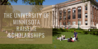 The University of Minnesota RaiseMe Scholarships