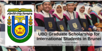 UBD Graduate funding for International Students in Brunei