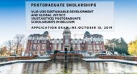 VLIR-UOS Sustainable Development and Global Justice (SUSTJUSTICE) postgraduate placements