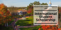 Western New England University International Student Scholarship in the US