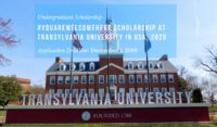 #YouAreWelcomeHere Scholarship at Transylvania University in USA, 2020