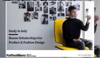 15 Master Awards for Product Design and Fashion Design Study in Italy, 2020