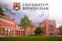 BP international awards at the University of Birmingham in the UK