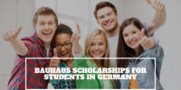 Bauhaus Scholarships for Students in Germany