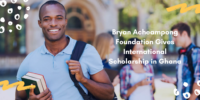 Bryan Acheampong Foundation Gives International Scholarship in Ghana