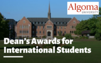 Dean's Awards for International Students at Algoma University, Canada