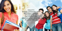 Equity Scholarships for International Students at Universities Admissions Centre in Australia