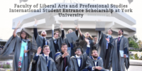 Faculty of Liberal Arts and Professional Studies International Student Entrance Scholarship at York University