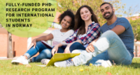 Fully-funded PhD Research Program for International Students in Norway