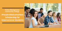 Fulton-Montgomery Community College #YouAreWelcomeHere funding for International Students