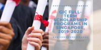 GIC Full-Term programs in Singapore, 2019-2020