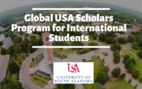 Global USA Scholars Program for International Students