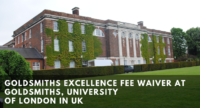 Goldsmiths Excellence Fee Waiver at Goldsmiths, University of London in UK