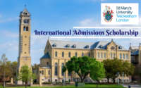 Great Scholarships-East Asia for Chinese Students a St. Mary's University, UK