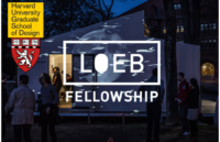 Harvard GSD Loeb Fellowship for International Applicants