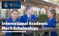 International Academic merit awards at Mercy College, USA