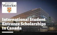 International Student Entrance Scholarships at University of Waterloo, Canada