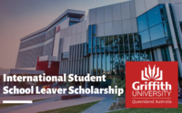 International Student School Leaver Scholarship at Griffith University, Australia