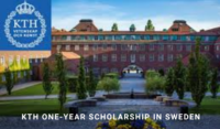 KTH One-Year Scholarship in Sweden